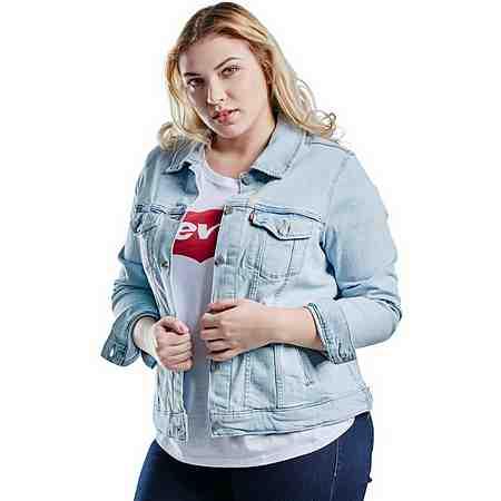 Levi's® Jeansjacke »Levis Jacket Trucker«, Plus Size Jeans Jacket