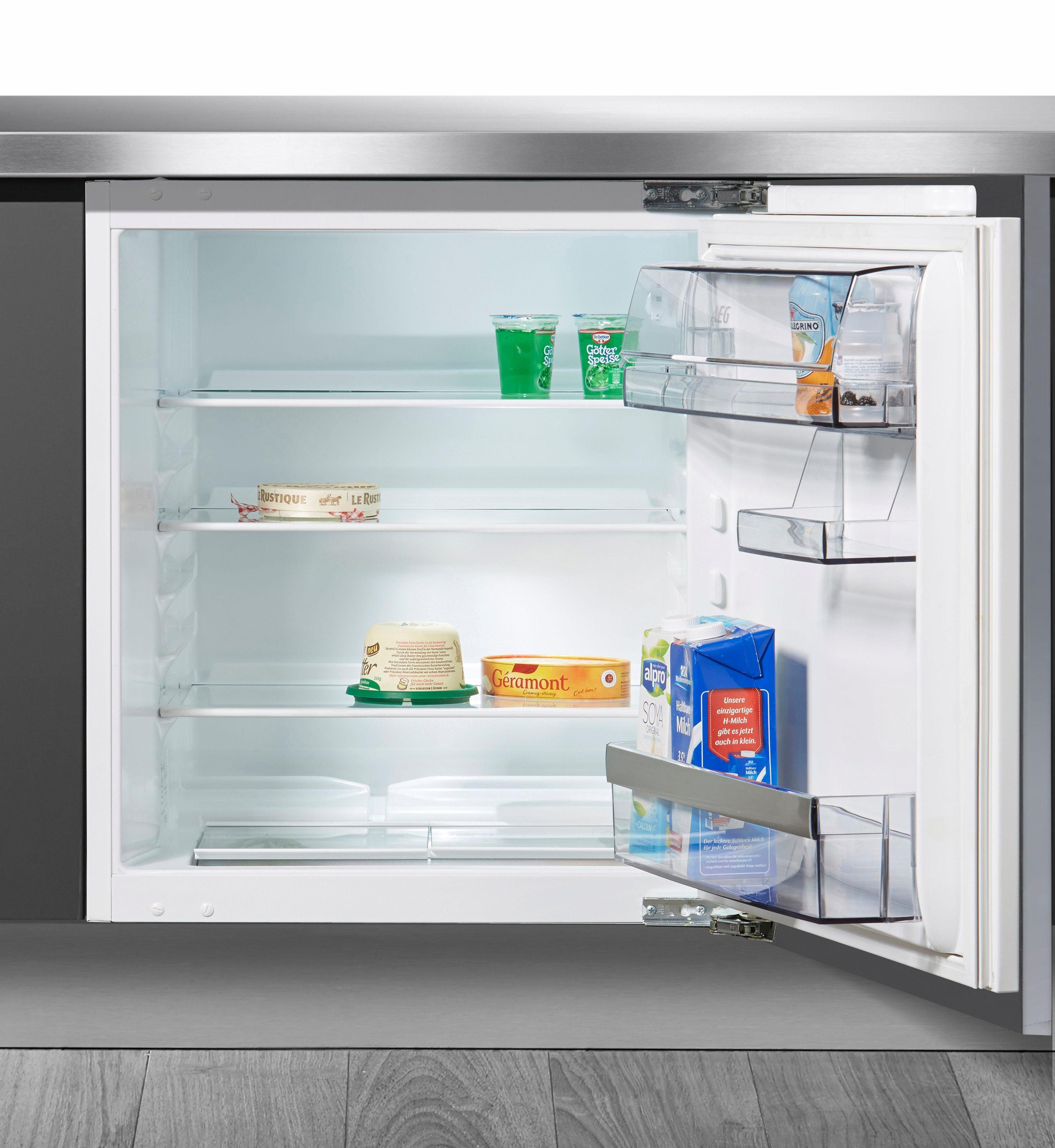 AEG integrierbarer Einbaukühlschrank Santo SKB58211AF, Energieklasse A++, 81,5 cm hoch