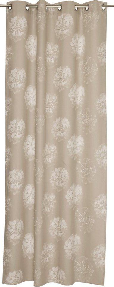 vorhang sch ner wohnen flora mit sen 1 st ck. Black Bedroom Furniture Sets. Home Design Ideas