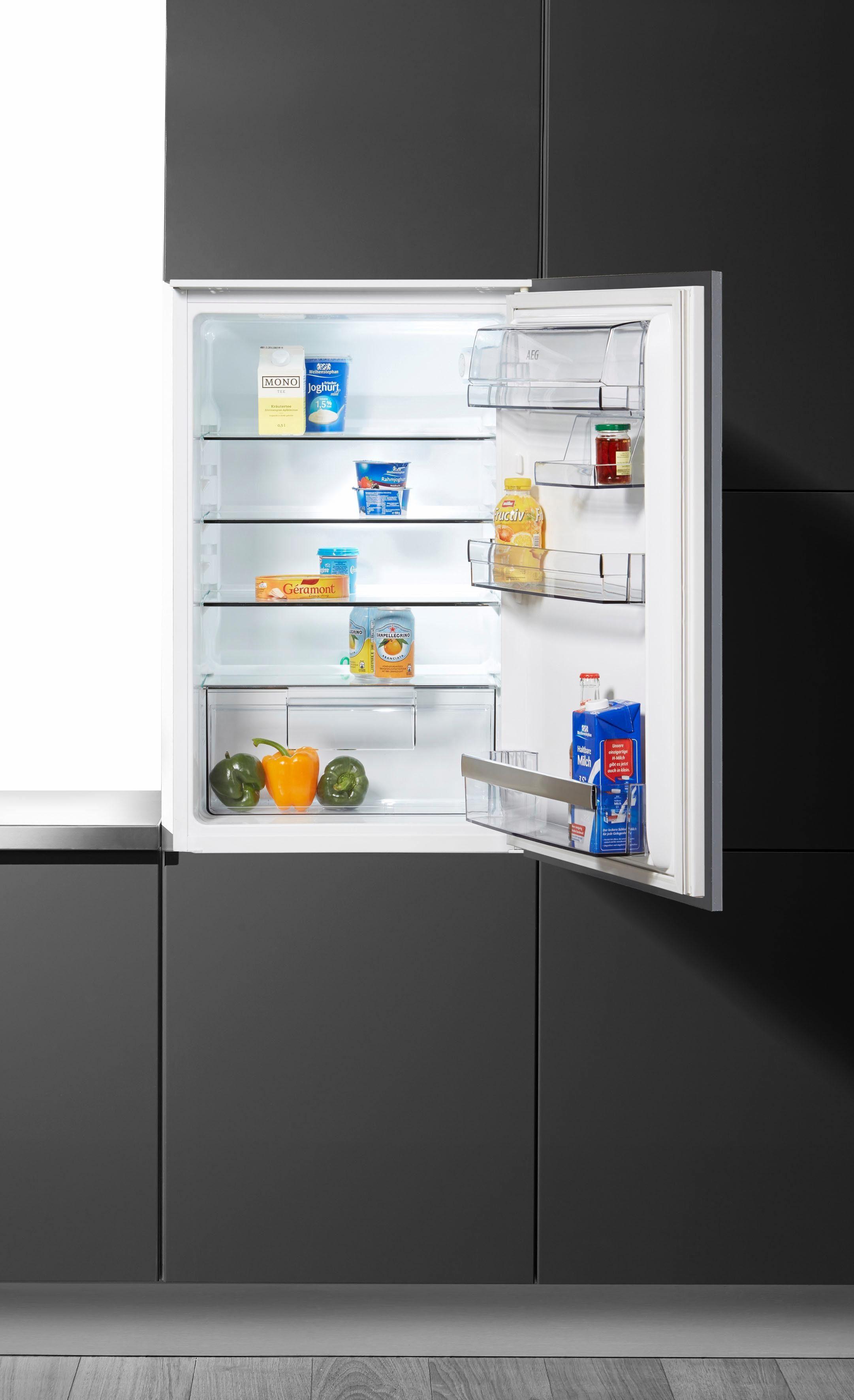 AEG Einbaukühlschrank Santo SKB58821AS, 87,3 cm hoch, 54,0 cm breit, Energieklasse A++, 87,3 cm hoch, integrierbar