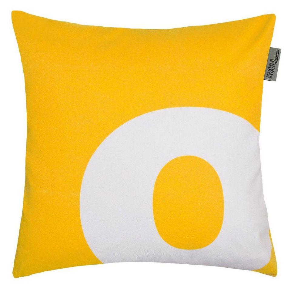 kissenh llen sch ner wohnen letter 1 st ck o online. Black Bedroom Furniture Sets. Home Design Ideas