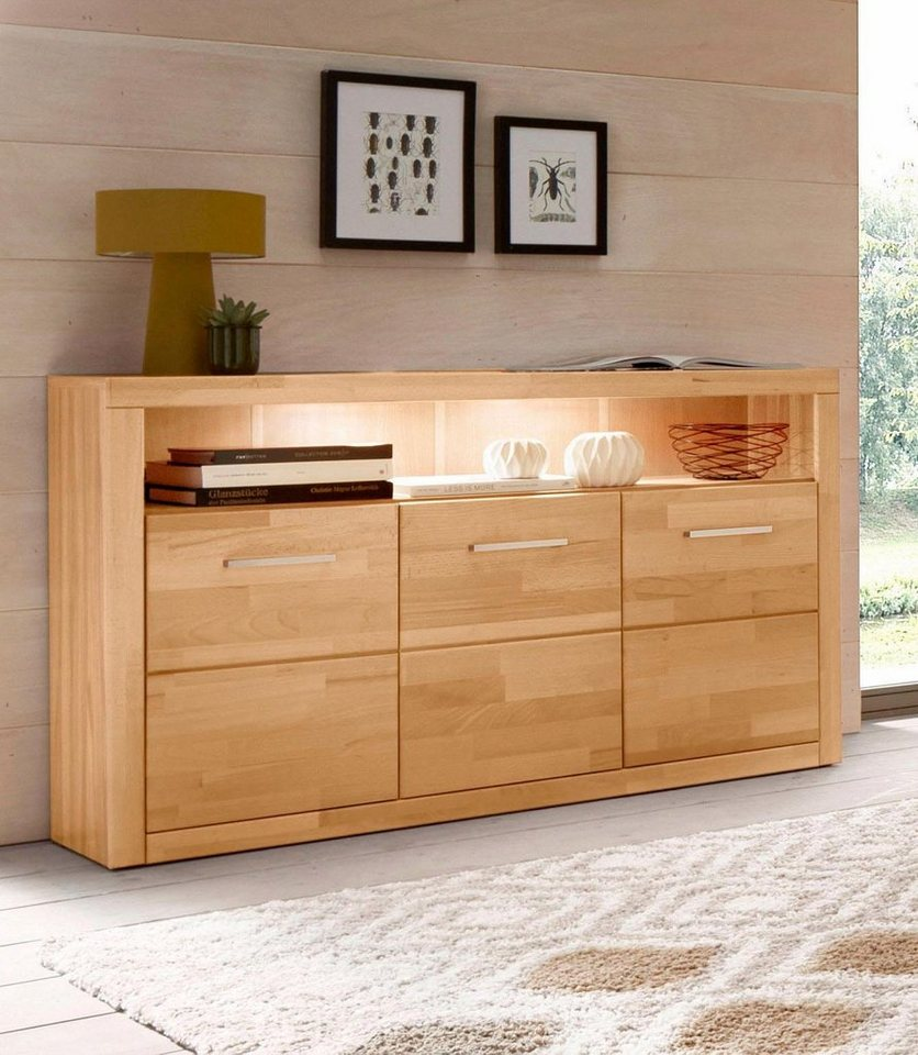 sideboard breite 130 cm online kaufen otto. Black Bedroom Furniture Sets. Home Design Ideas