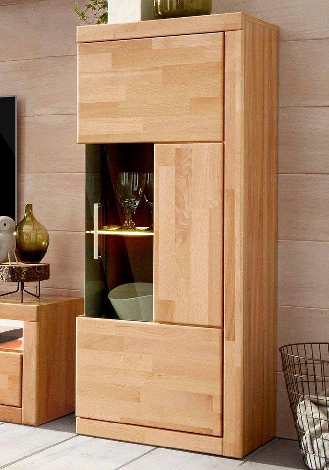 vitrine h he 125 cm online kaufen otto. Black Bedroom Furniture Sets. Home Design Ideas