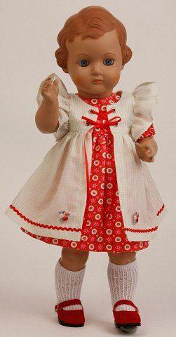 Schildkröt Puppenmanufaktur Sammlerpuppe, »Ursel, 41 cm«