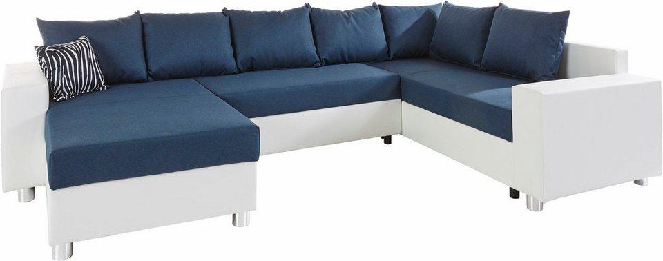 collection ab wohnlandschaft mit federkern wahlweise mit. Black Bedroom Furniture Sets. Home Design Ideas