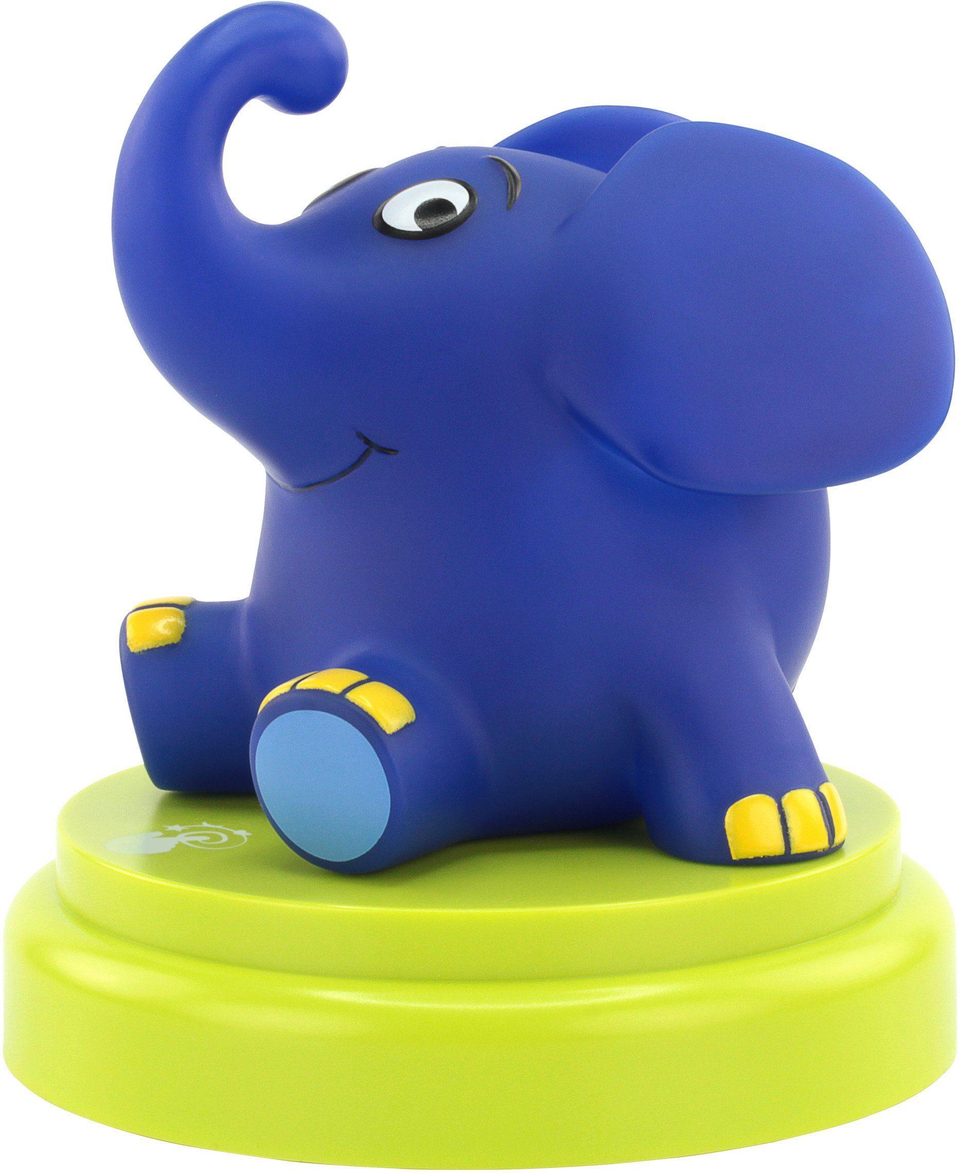 Ansmann Schlummerlicht mit Abschaltautomatik, »Mobiles Nachtlicht Elefant«