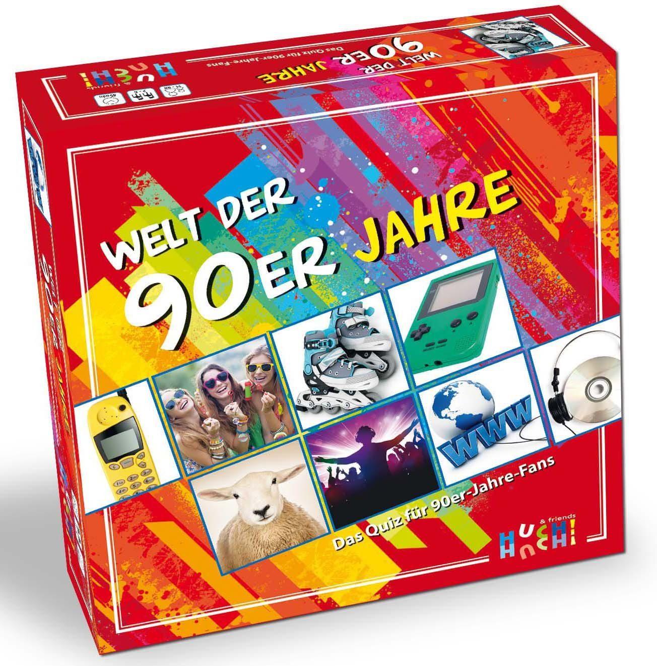 Huch! & friends Quizspiel, »Welt der 90er«