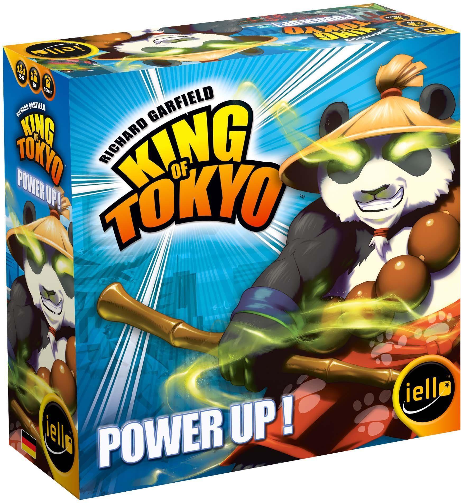 iello Erweiterungsspiel, »King of Tokyo Power Up«