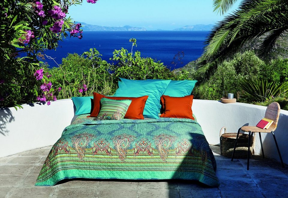 Tagesdecke bassetti elba mit paisley muster otto for Tagesdecke paisley