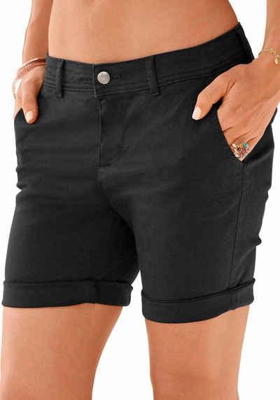 df8a9268653b1e Kurze schwarze Damenhosen online kaufen | OTTO