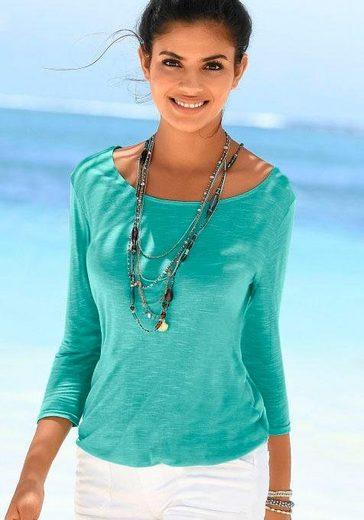 Beachtime Shirts (2 Stück) mit Spitzendetail am Rücken
