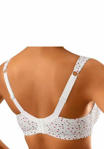 Susa Entlastungs-BH ohne Bügel mit grafischem Druck