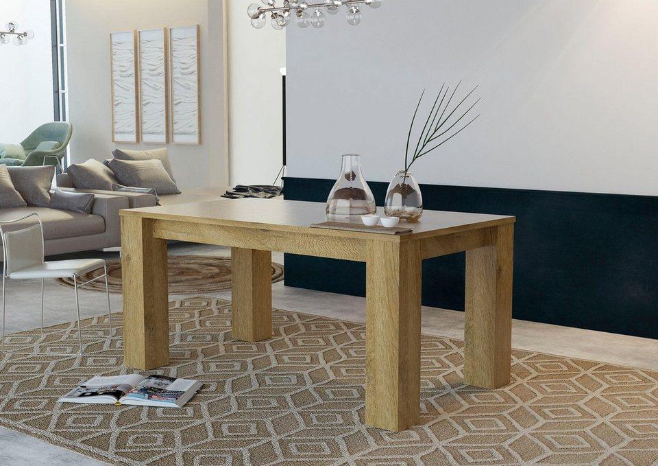 tecnos esstisch breite 160 cm online kaufen otto. Black Bedroom Furniture Sets. Home Design Ideas