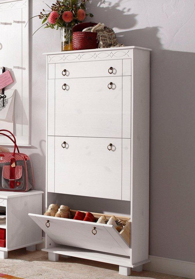 home affaire schuhschrank indra 70 cm breit otto. Black Bedroom Furniture Sets. Home Design Ideas