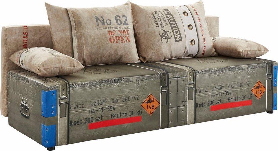 Gala collezione schlafsofa online kaufen otto for Schlafcouch auf rechnung