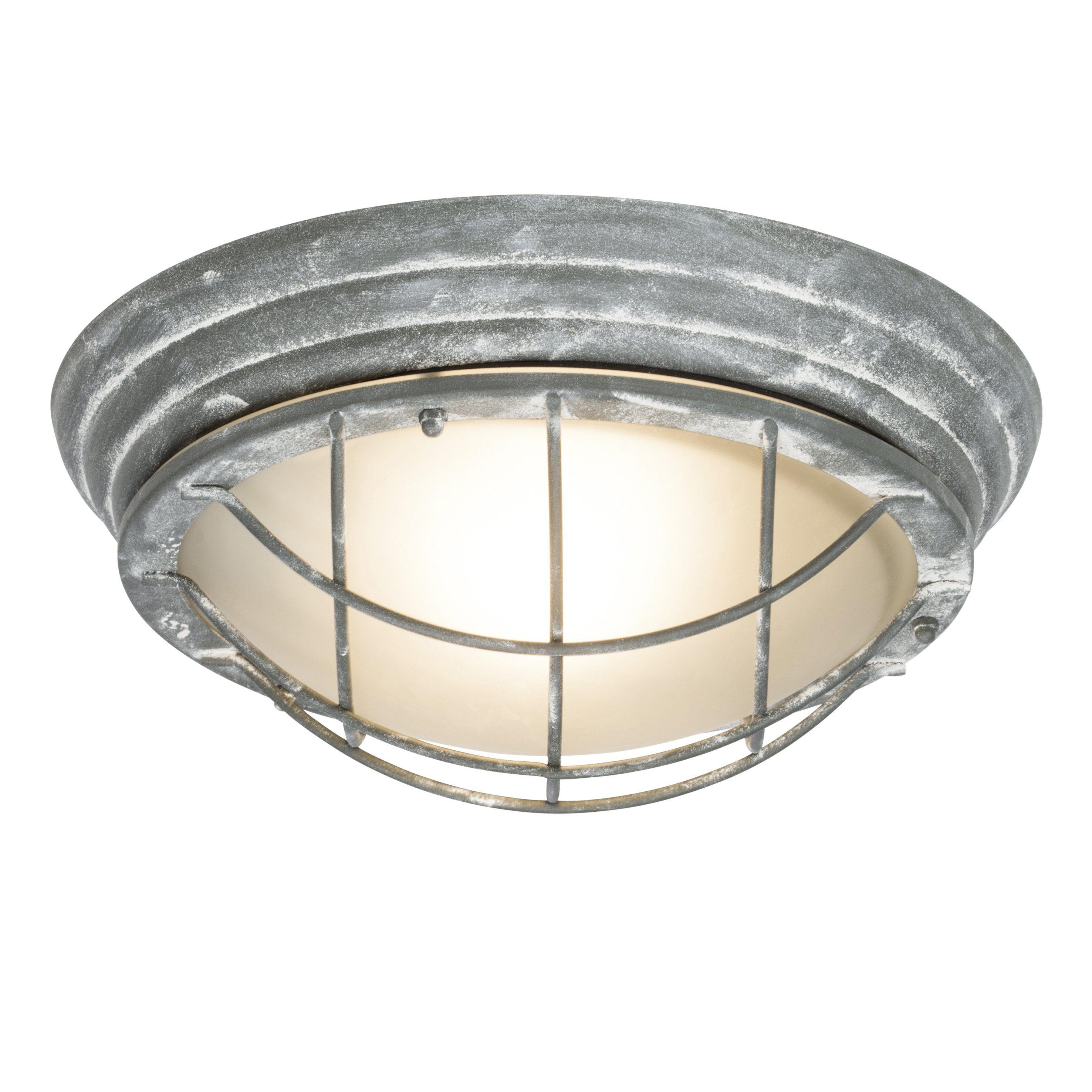 Brilliant Leuchten Olena Außenwandleuchte grau Beton IP44