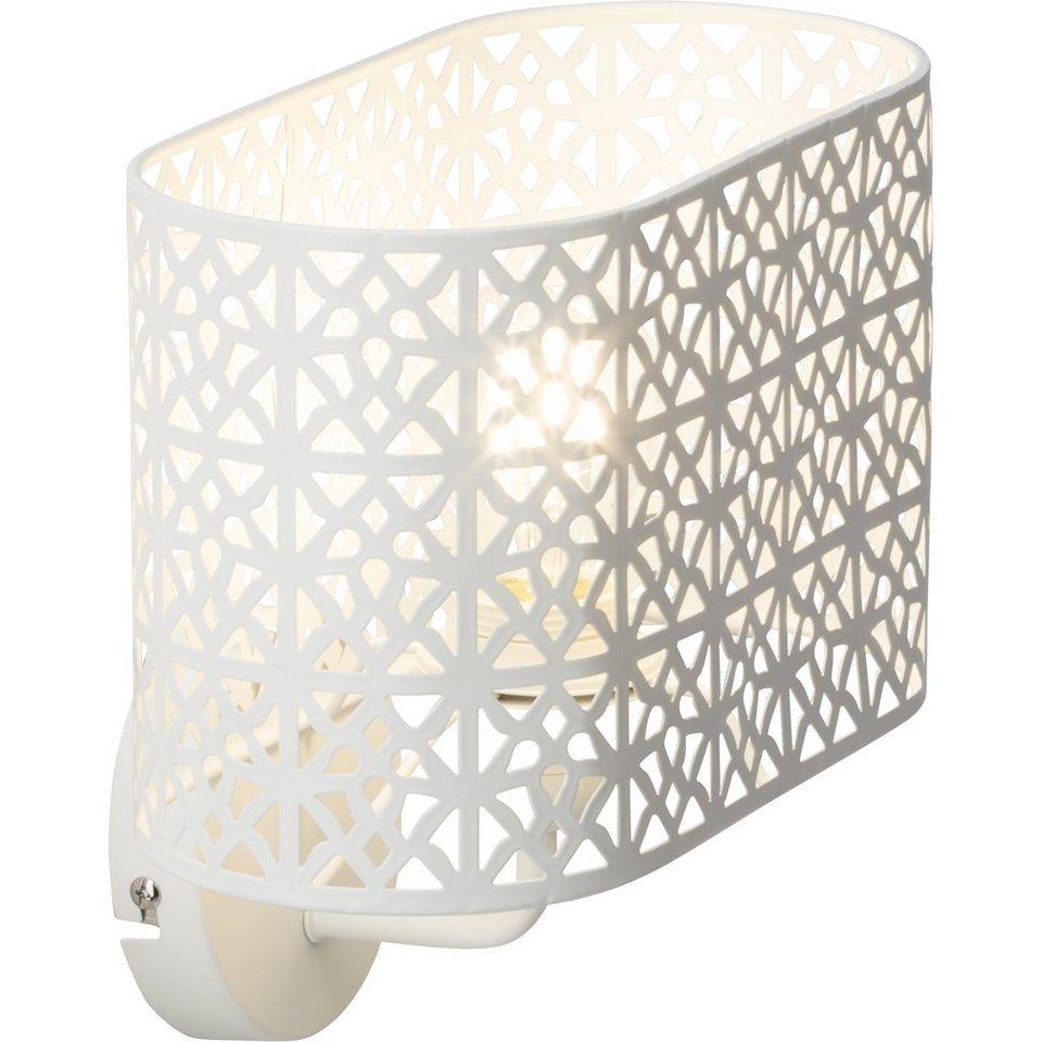 brilliant leuchten nour wandleuchte wei kaufen otto. Black Bedroom Furniture Sets. Home Design Ideas