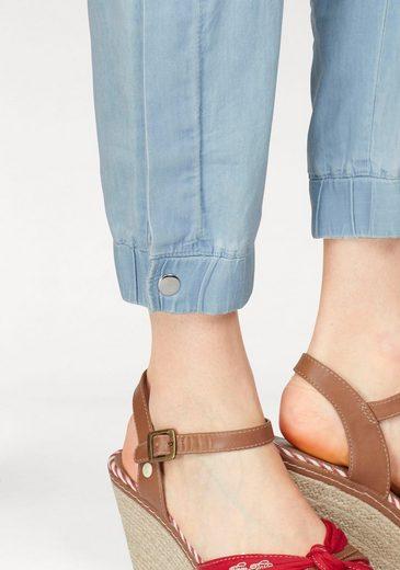 Aniston Schlupfhose, mit elastischem Beinabschluss