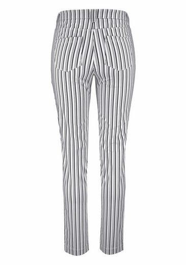 Aniston Röhrenhose, im Streifen-Dessin