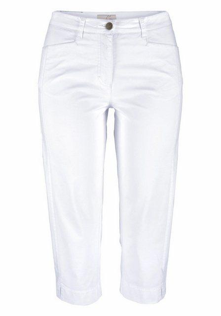 Aniston CASUAL Caprihose mit vorverlegter Seitennaht | Bekleidung > Hosen > Caprihosen | Aniston CASUAL