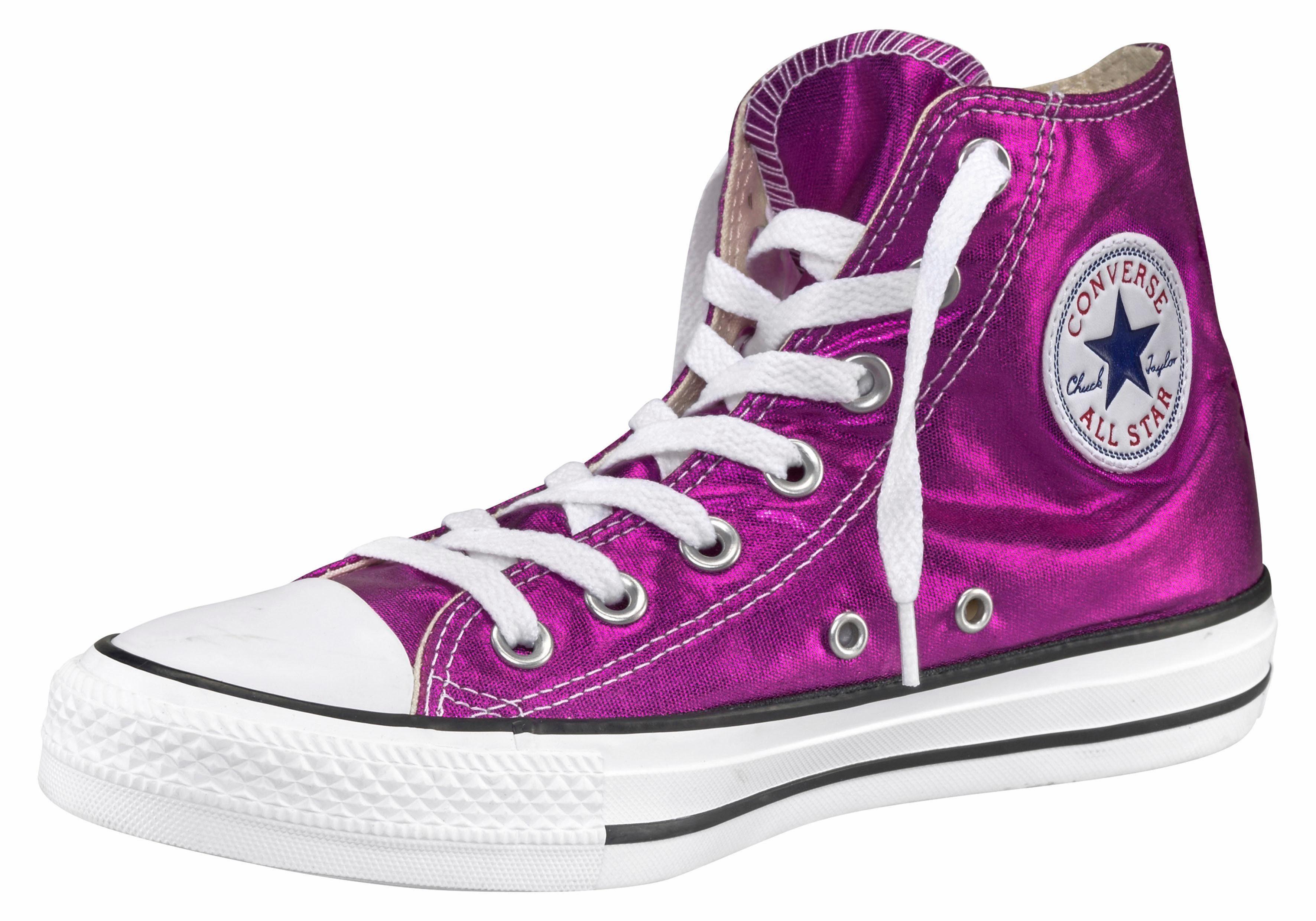 Converse Chuck Taylor All Star Hi W Sneaker  neonpink