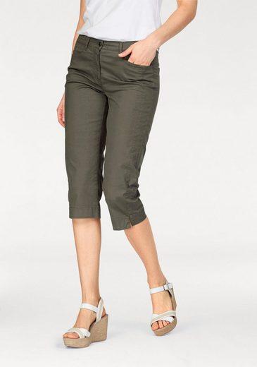 Pantalon Capri, Avec Couture Latérale Pré-acheminée