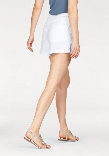 Tamaris Shorts, mit Bundfalten