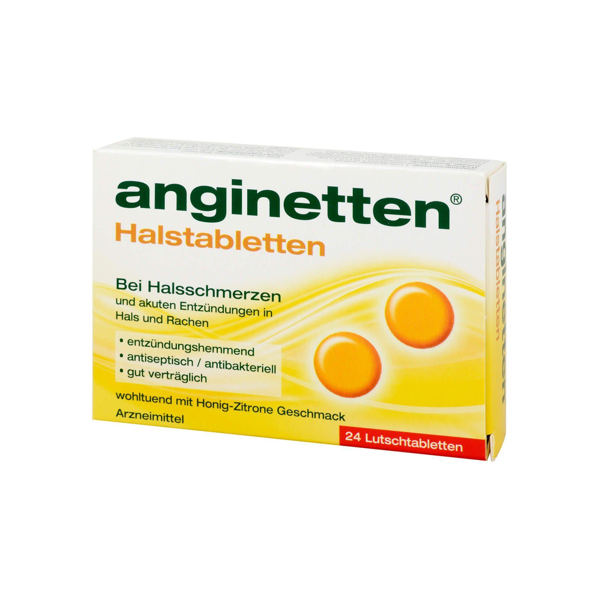 Anginetten Halstabletten , 24 St