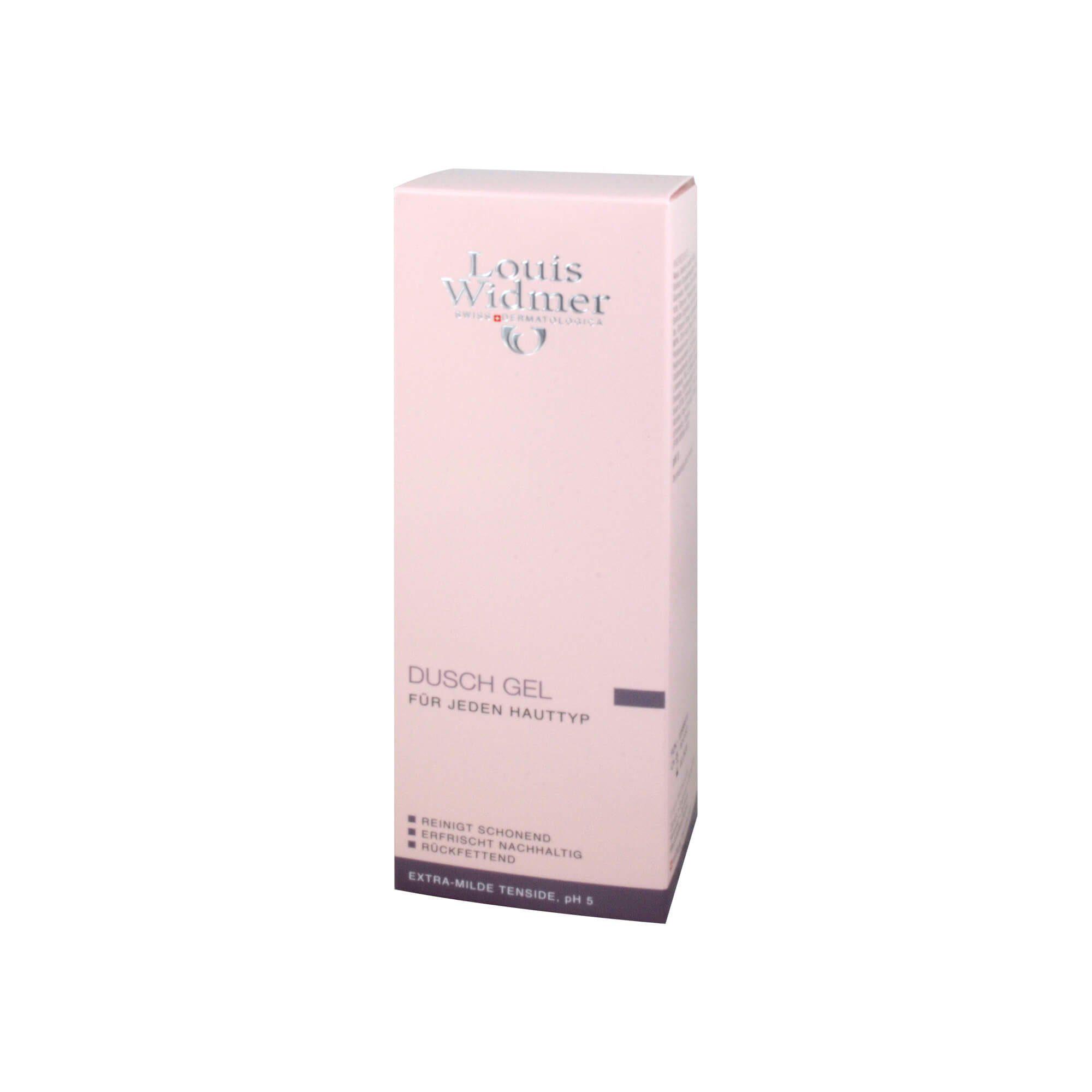 Widmer Duschgel leicht parfümiert , 200 ml