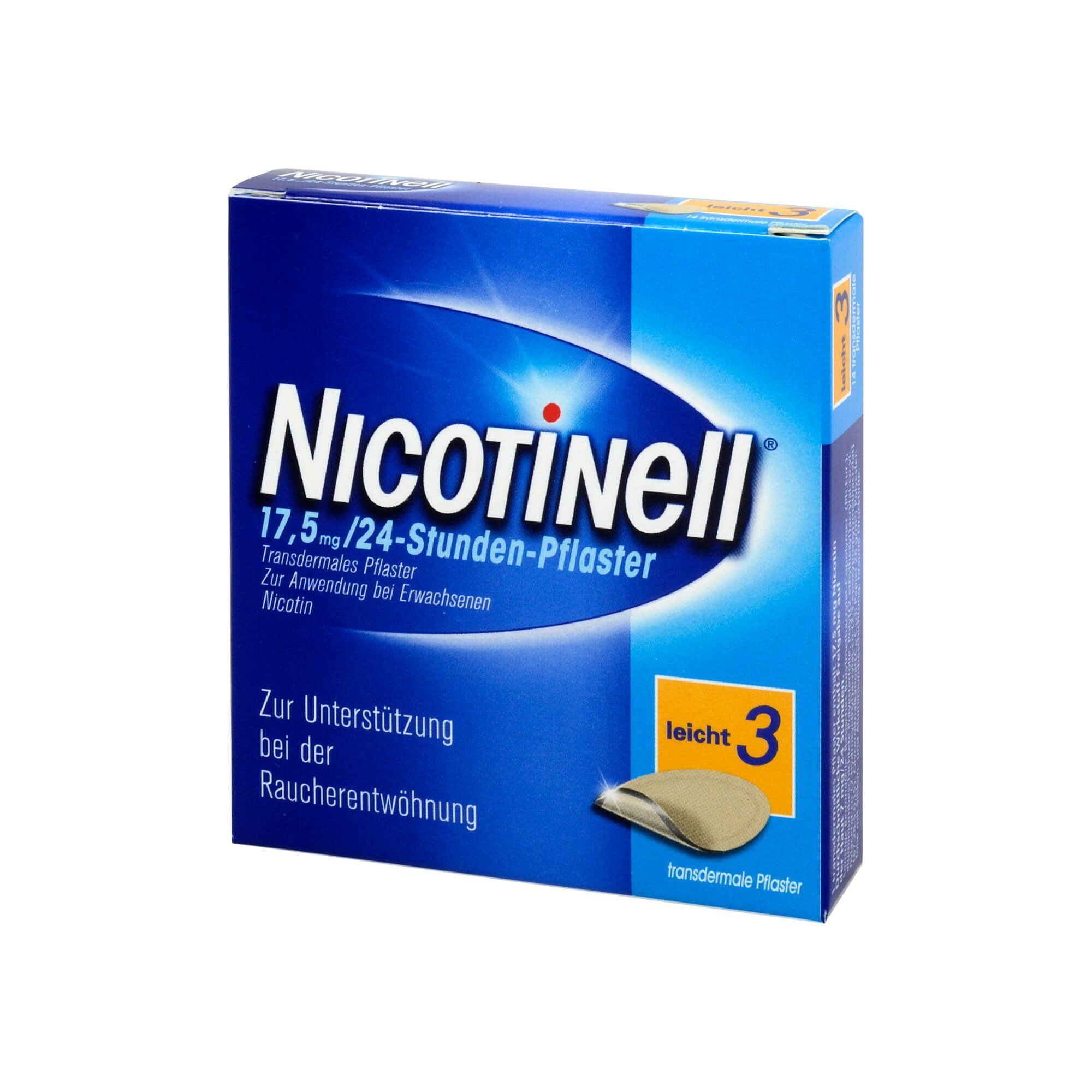 Nicotinell 17,5 mg 24 Stunden Pflaster, 7 St