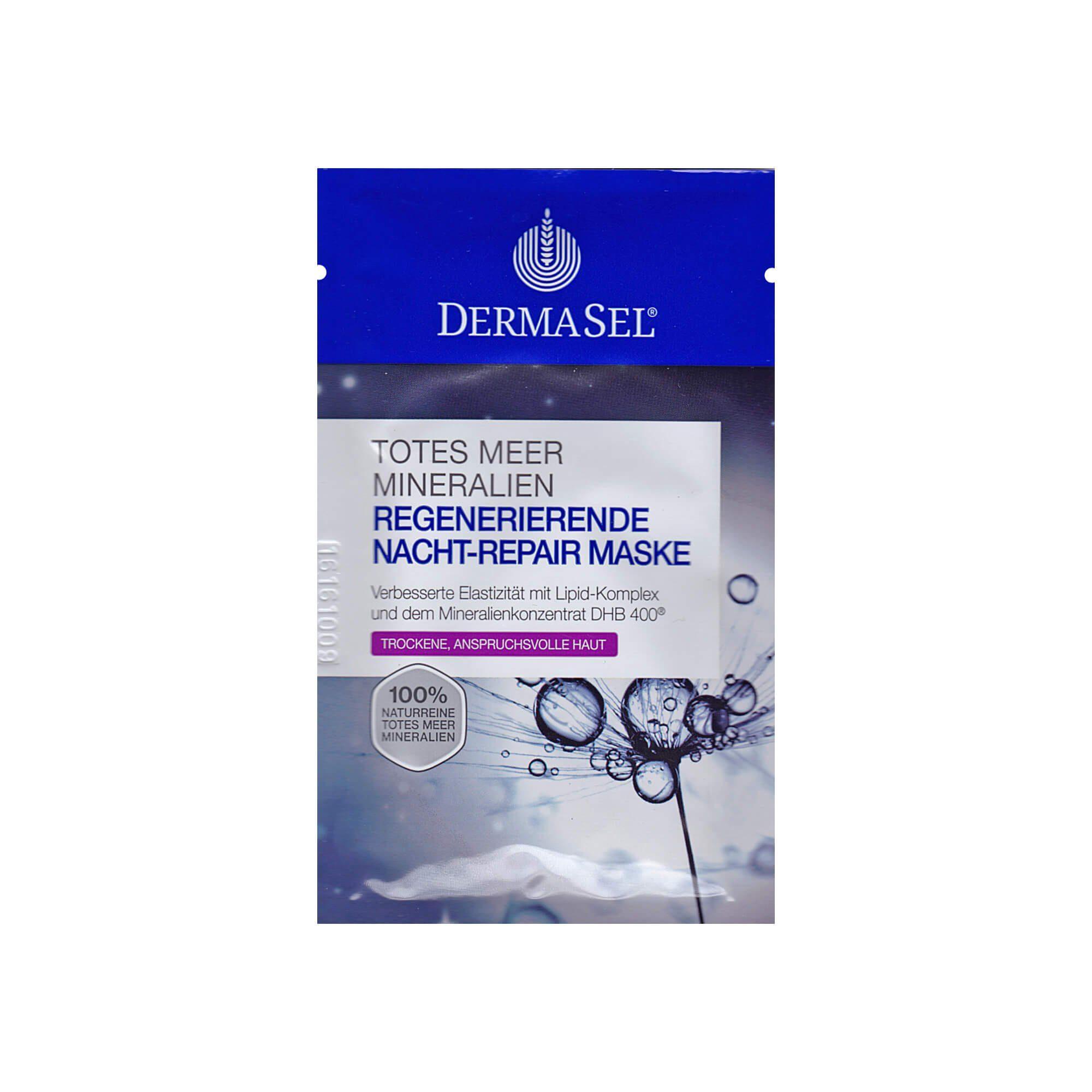 Dermasel Spa Totes Meer Maske Nacht-Repair , 12 ml