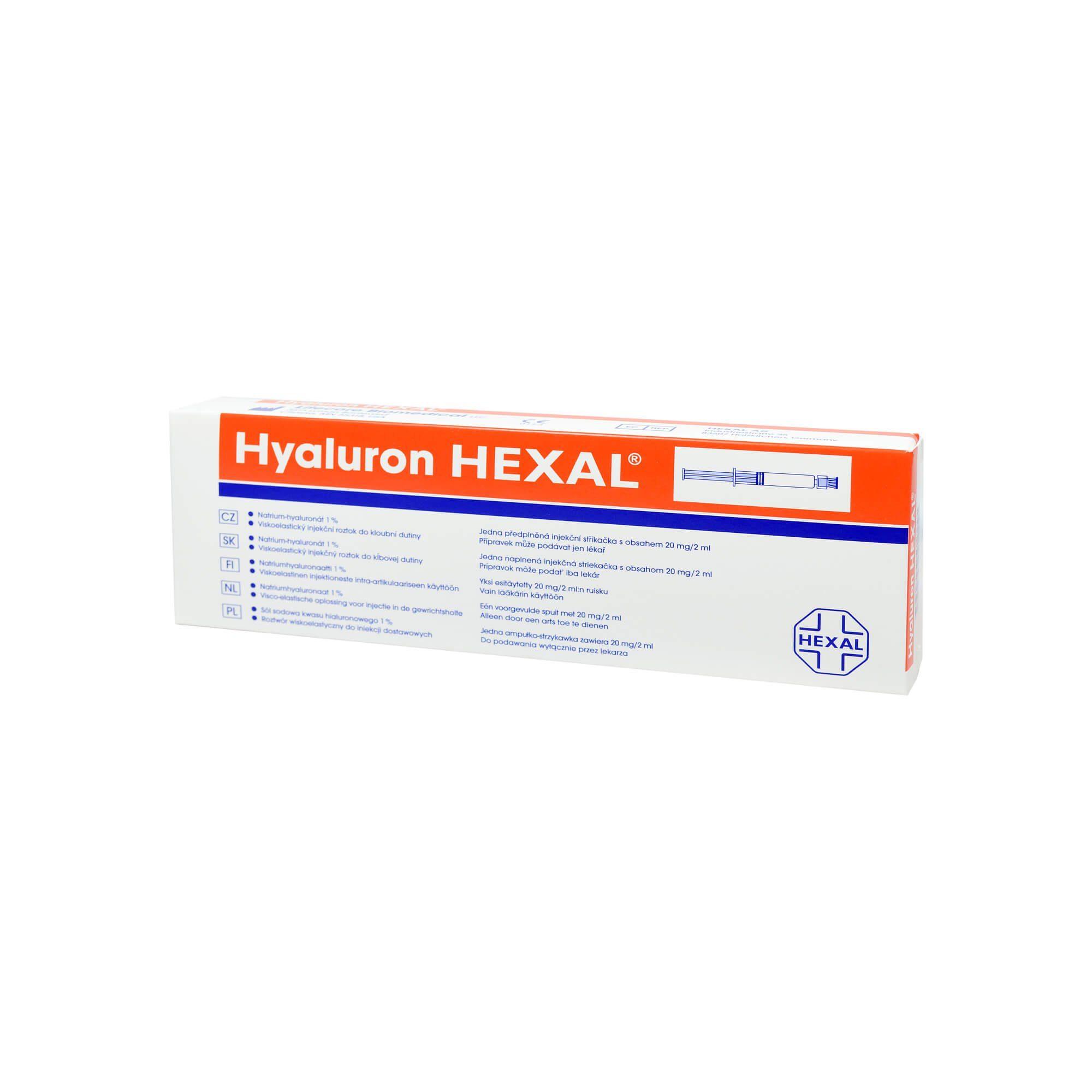 Hyaluron Hexal Fertigspritzen , 1 St