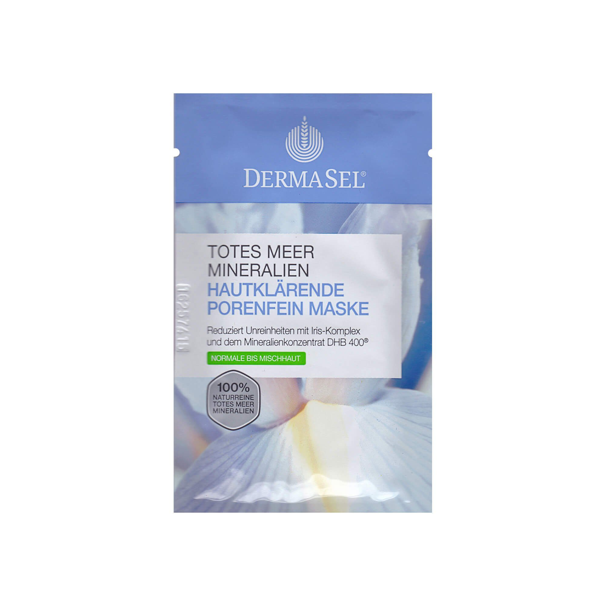 Dermasel Spa Hautklar Maske, 12 ml