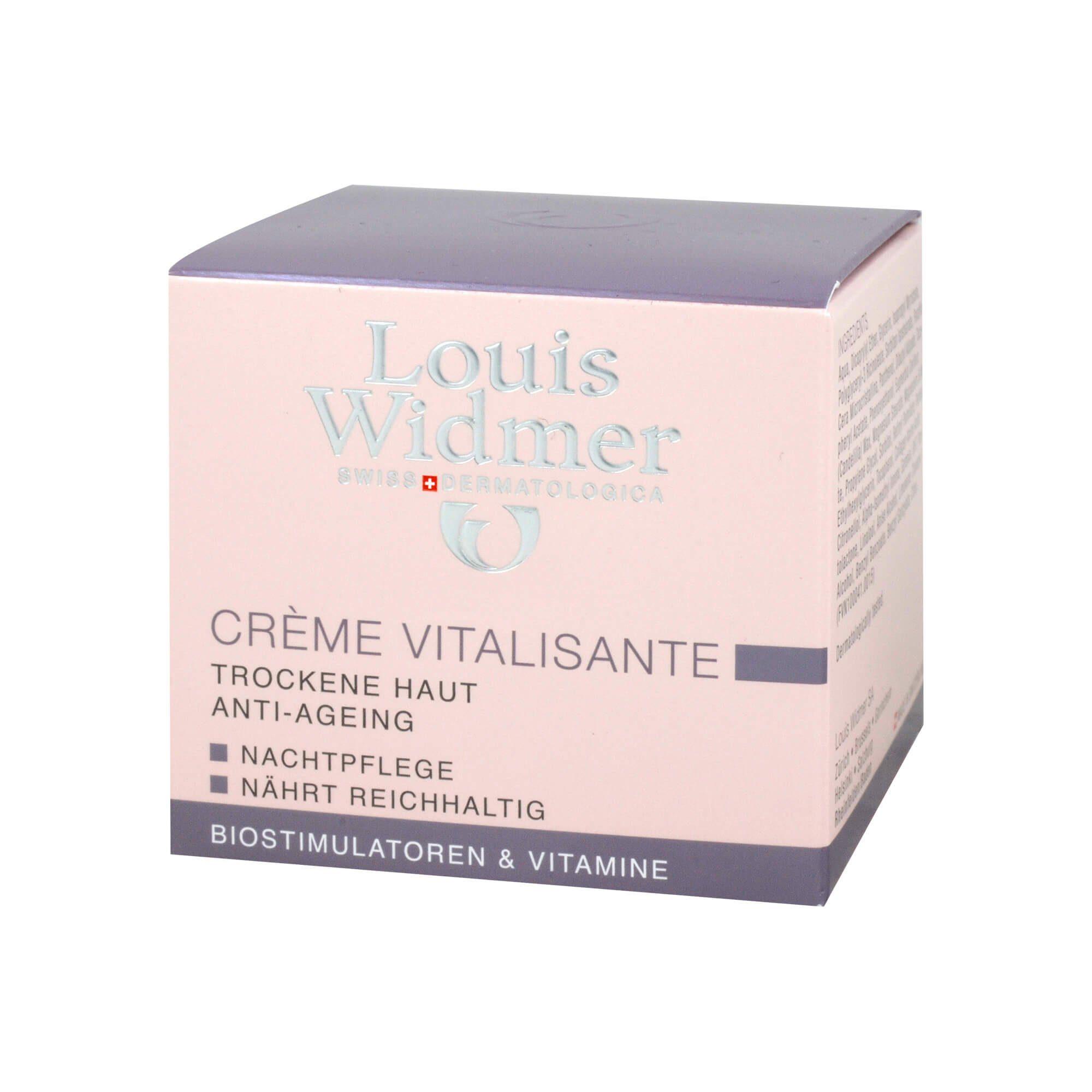 Widmer Creme Vitalisante leicht parfümiert, 50 ml