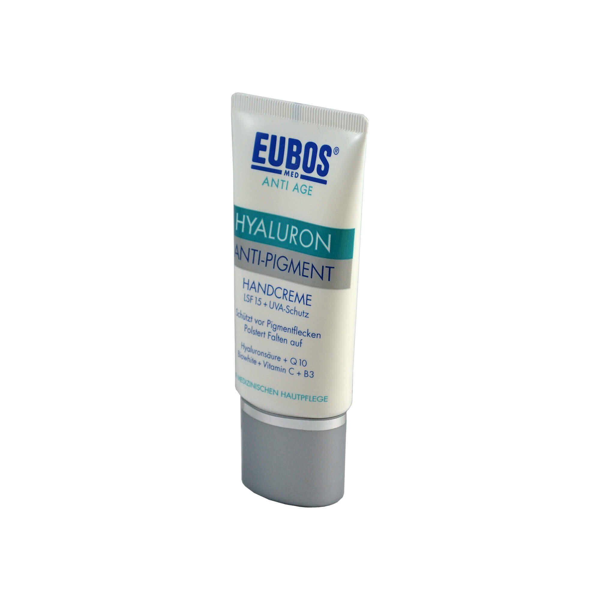 Eubos HYALURON Anti Pigment Handcreme LSF 15 , 50 ml