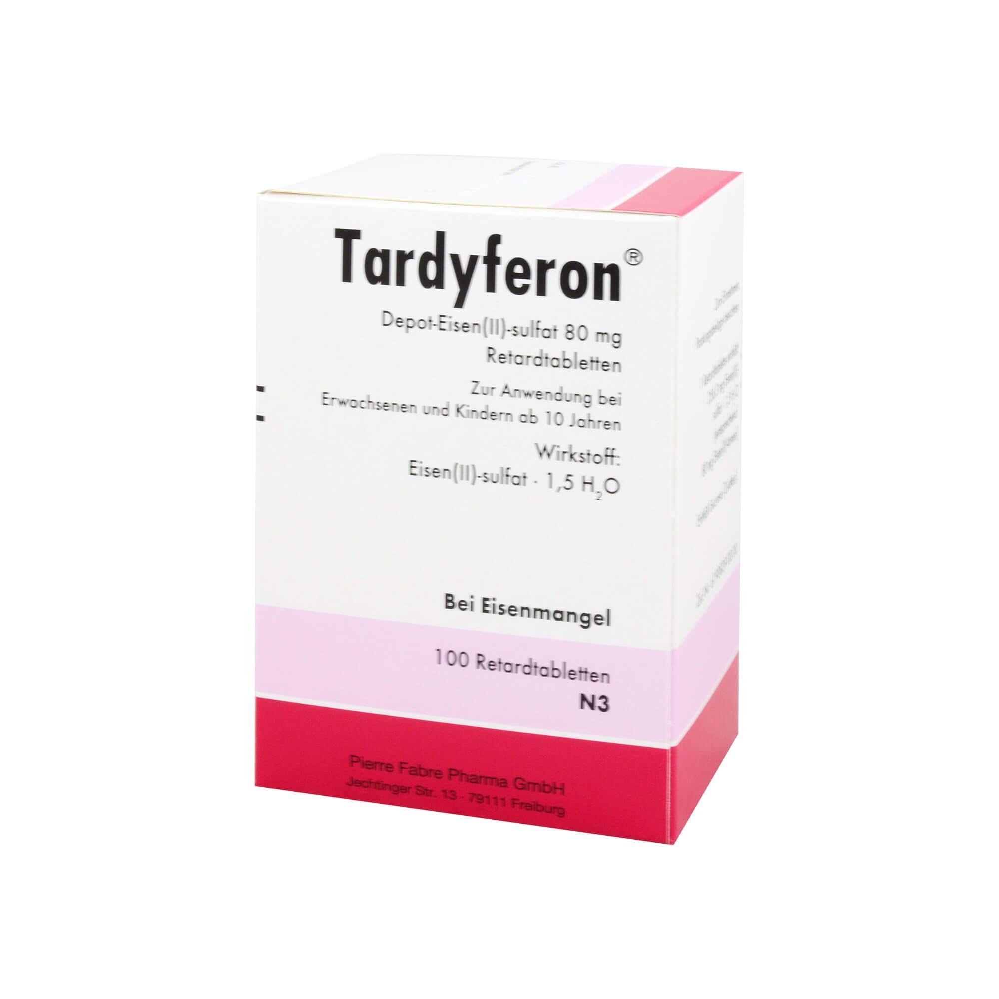 Tardyferon Retardtabletten, 100 St