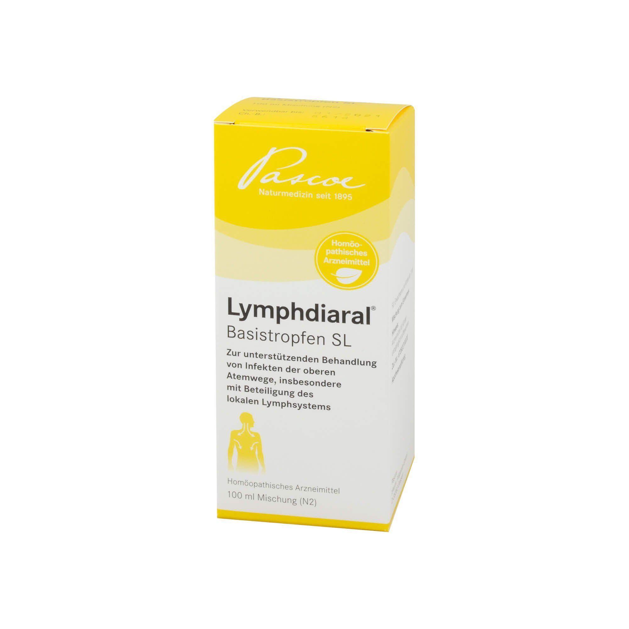 LYMPHDIARAL BASISTROPFEN SL, 100 ml