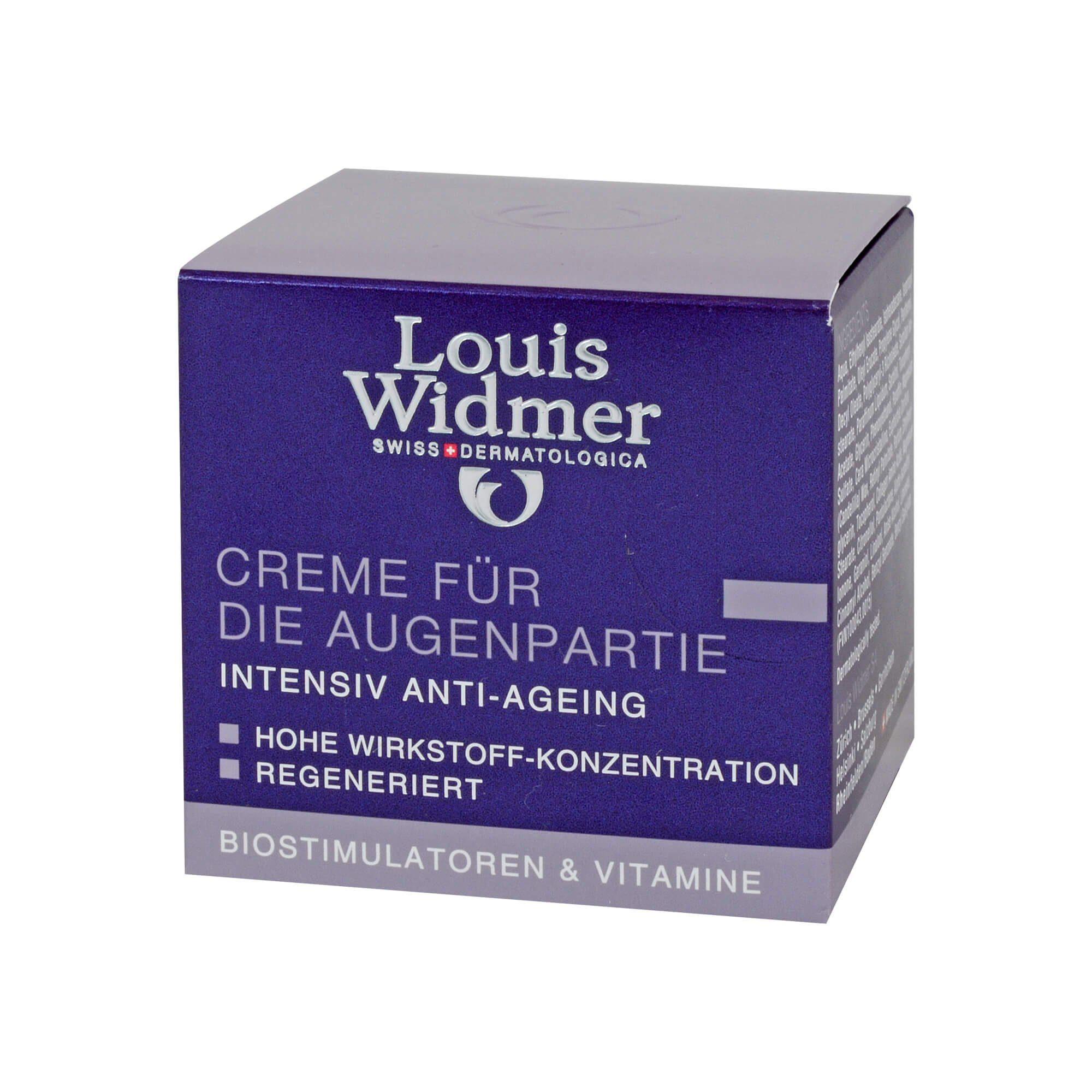 Widmer Creme für die Augenpartie leicht parfümiert (, 30 ml)