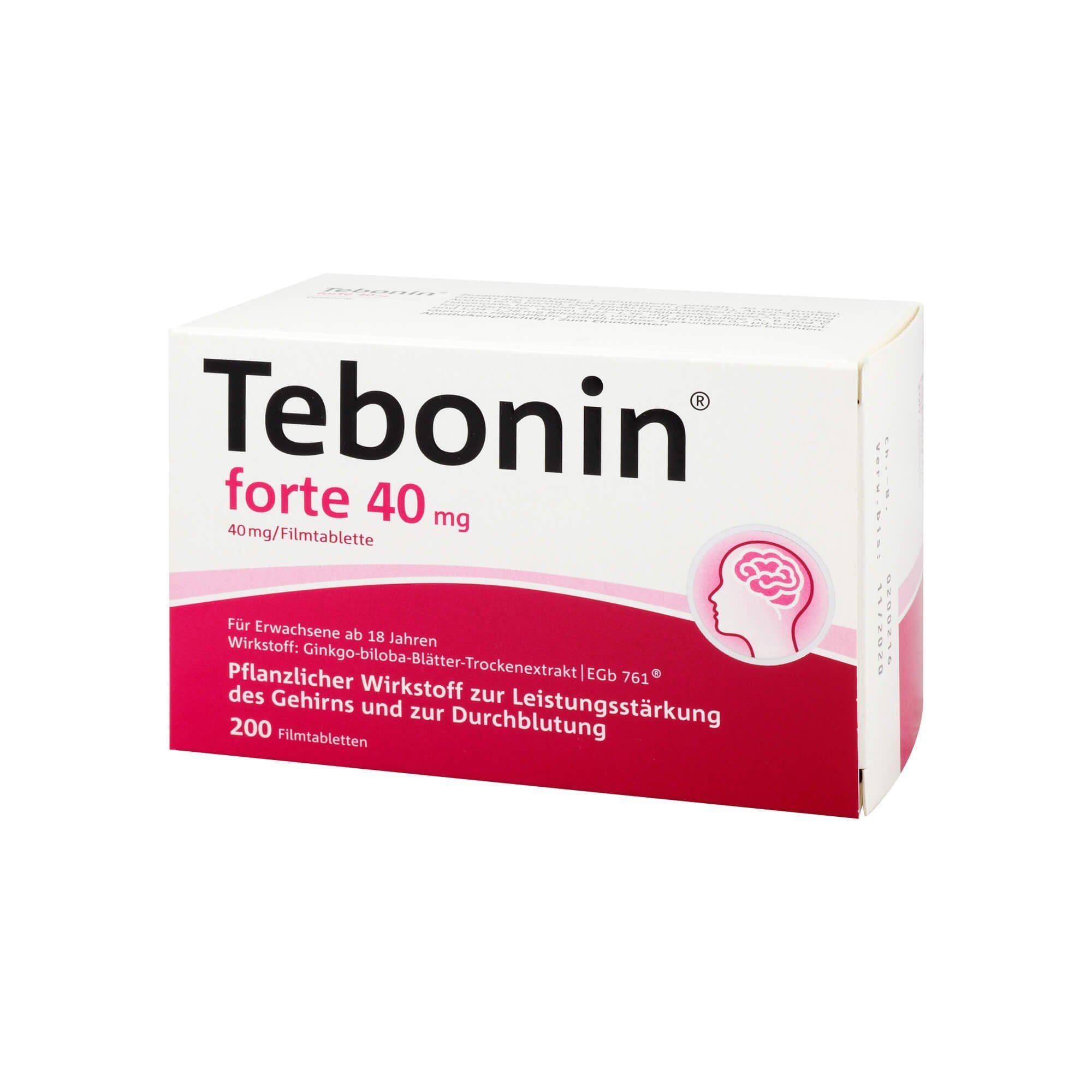 Tebonin forte 40 mg, 200 St