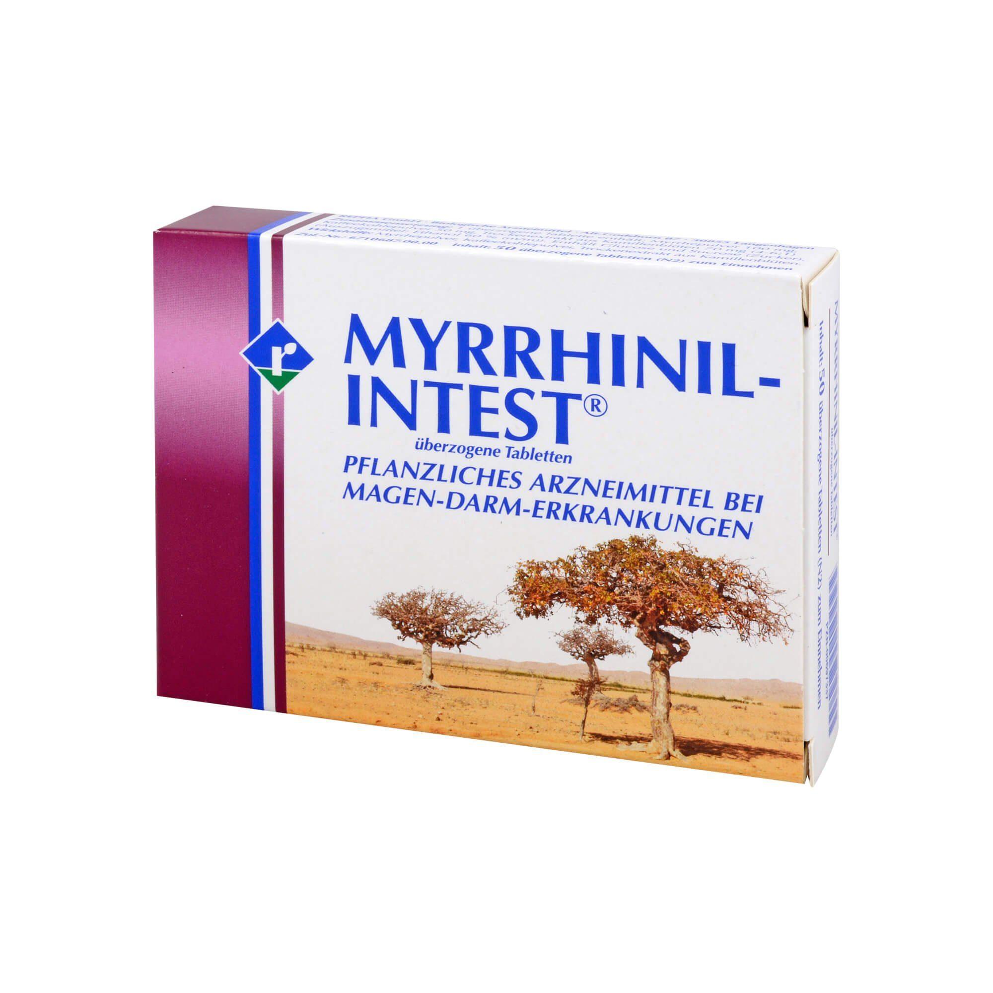 Myrrhinil Intest Überzogene Tabletten, 500 St