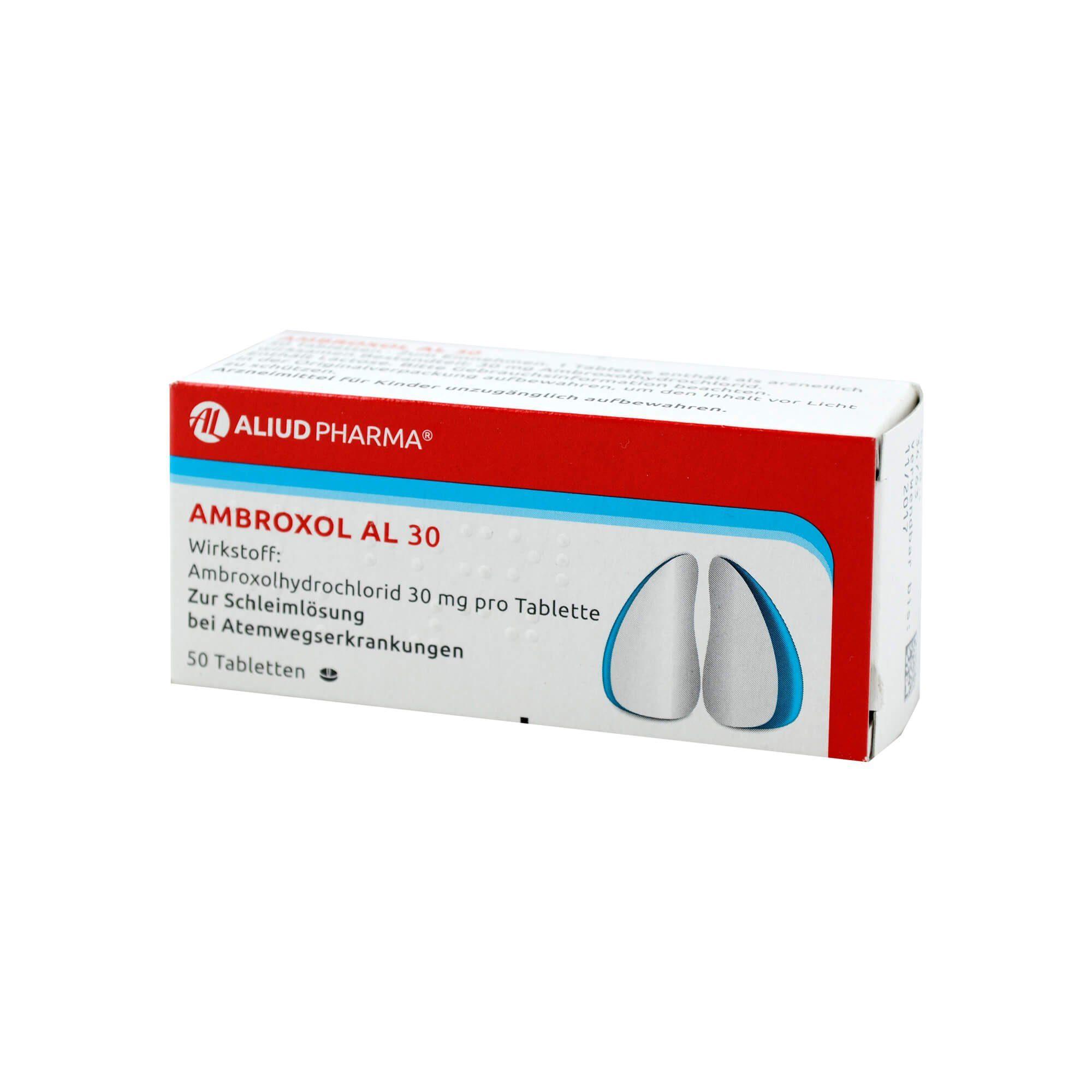 Ambroxol AL 30 Tabletten , 50 St