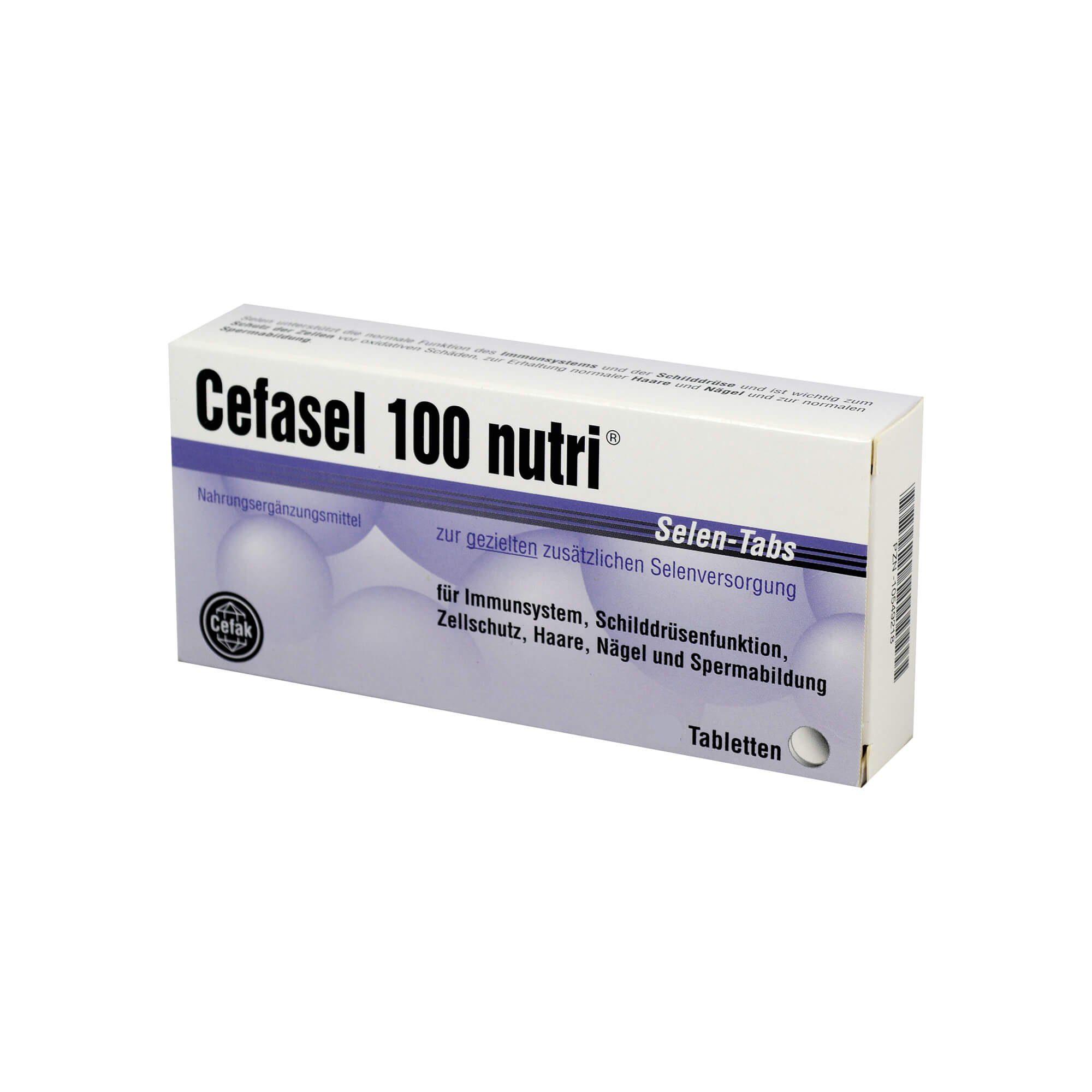 Cefasel 100 Nutri Selen-Tabs , 200 St