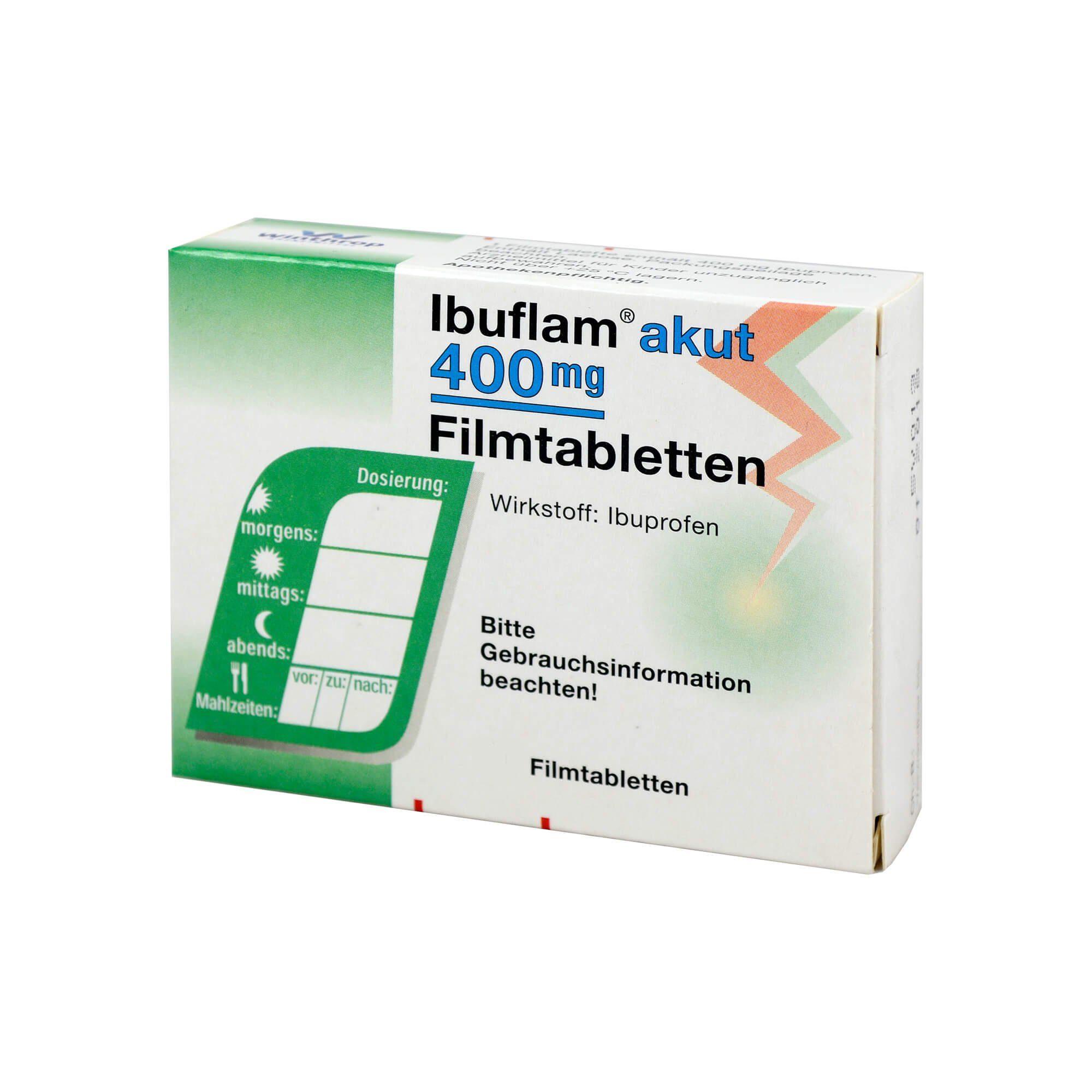 Ibuflam Akut 400 mg Filmtabletten , 10 St
