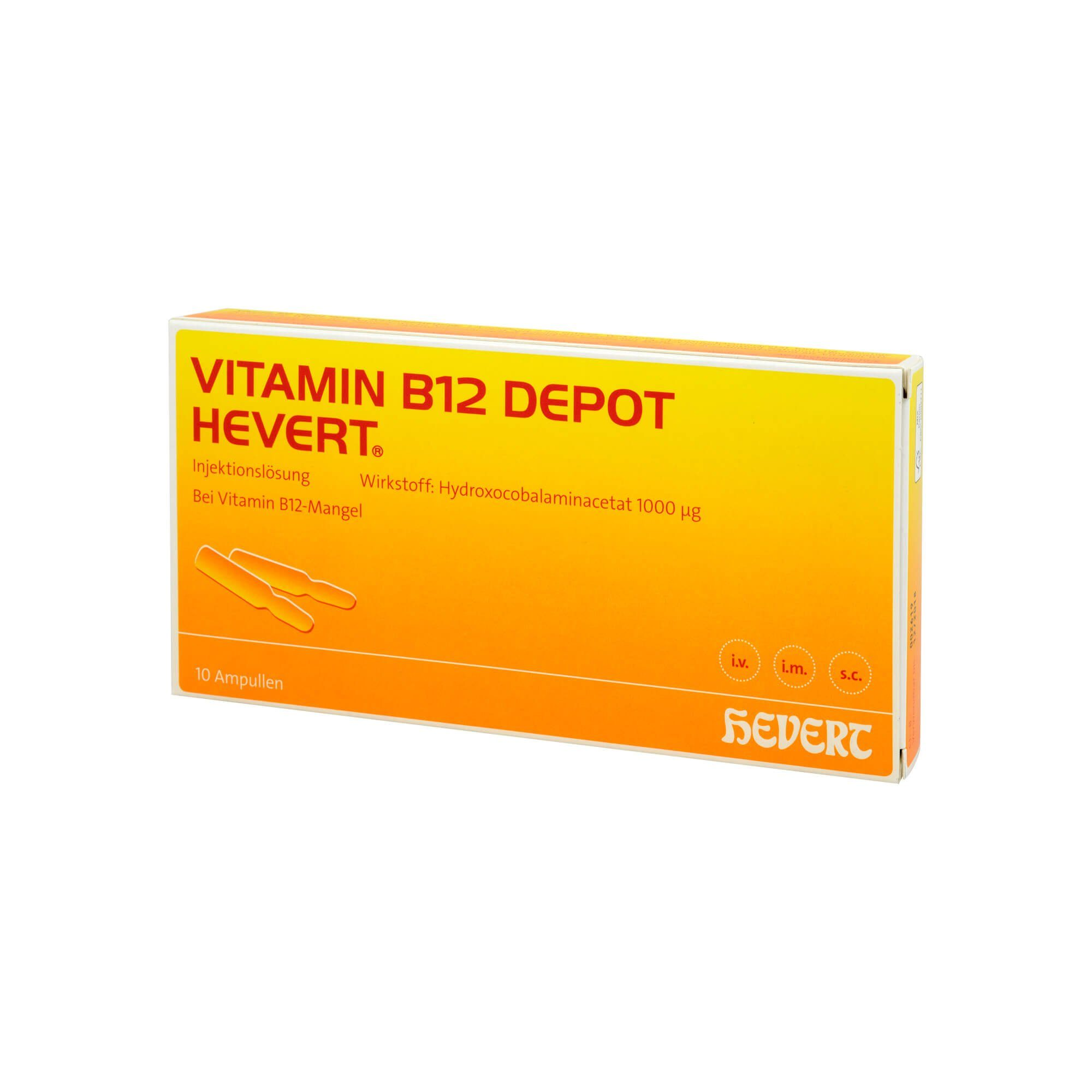 Hevert VITAMIN B12 DEPOT HEVERT , 10 St