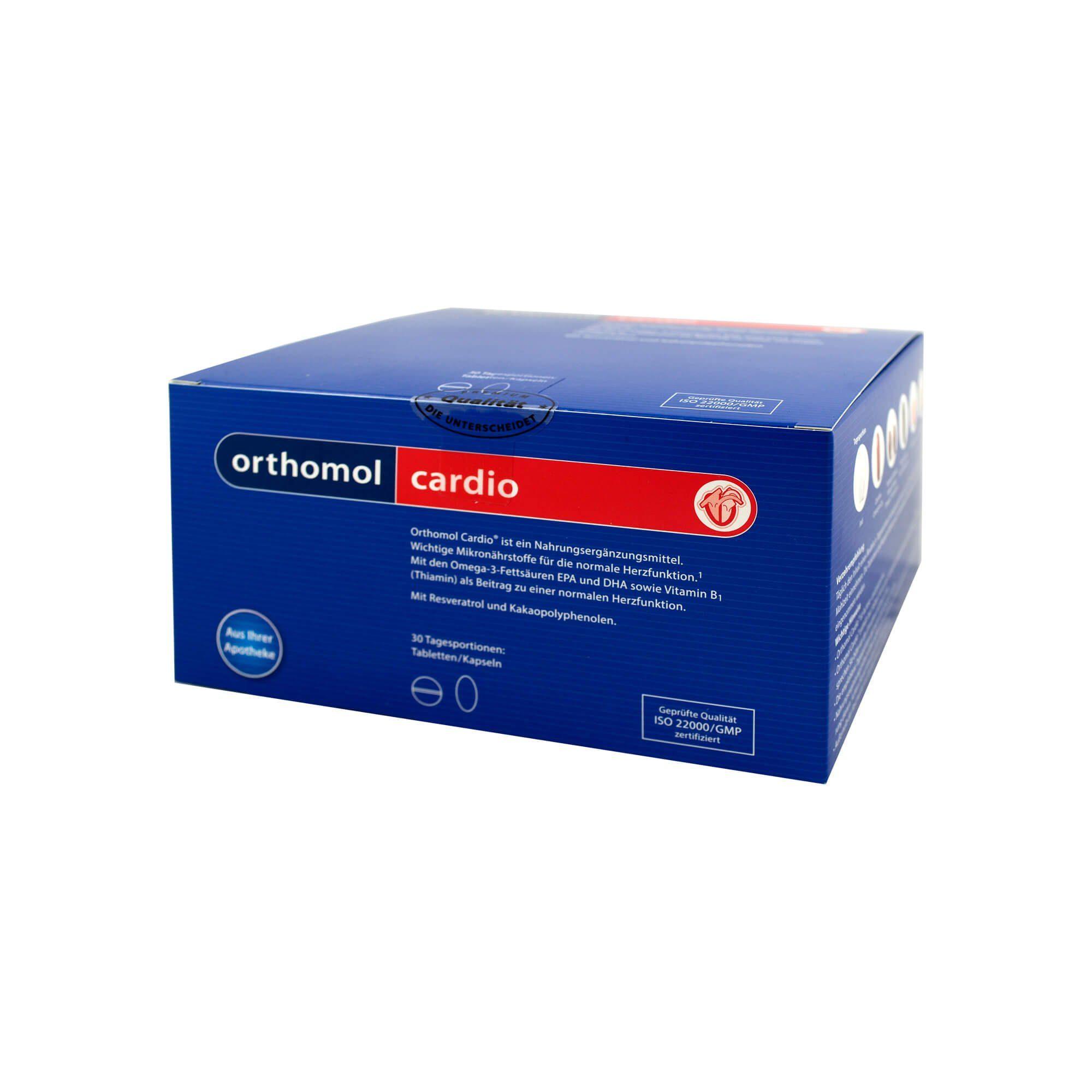 Orthomol Cardio Tabletten + Kapseln, 1 St