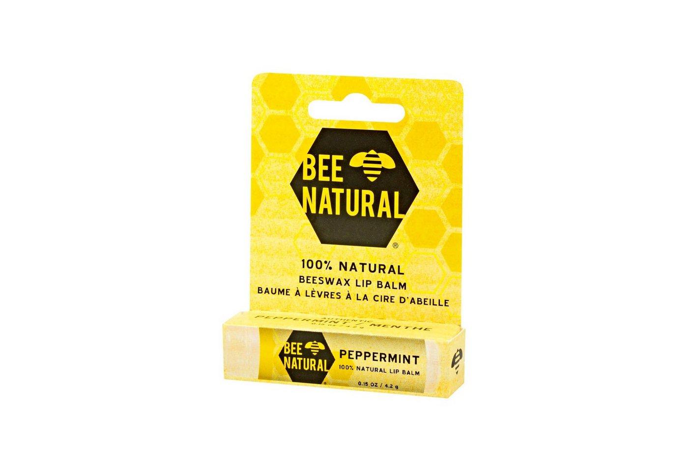 Bee Natural Lippenpflegestift Pfefferminz, 4.25 g