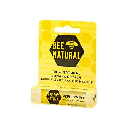 Bee Natural Lippenpflegestift Pfefferminz , 4.25 g