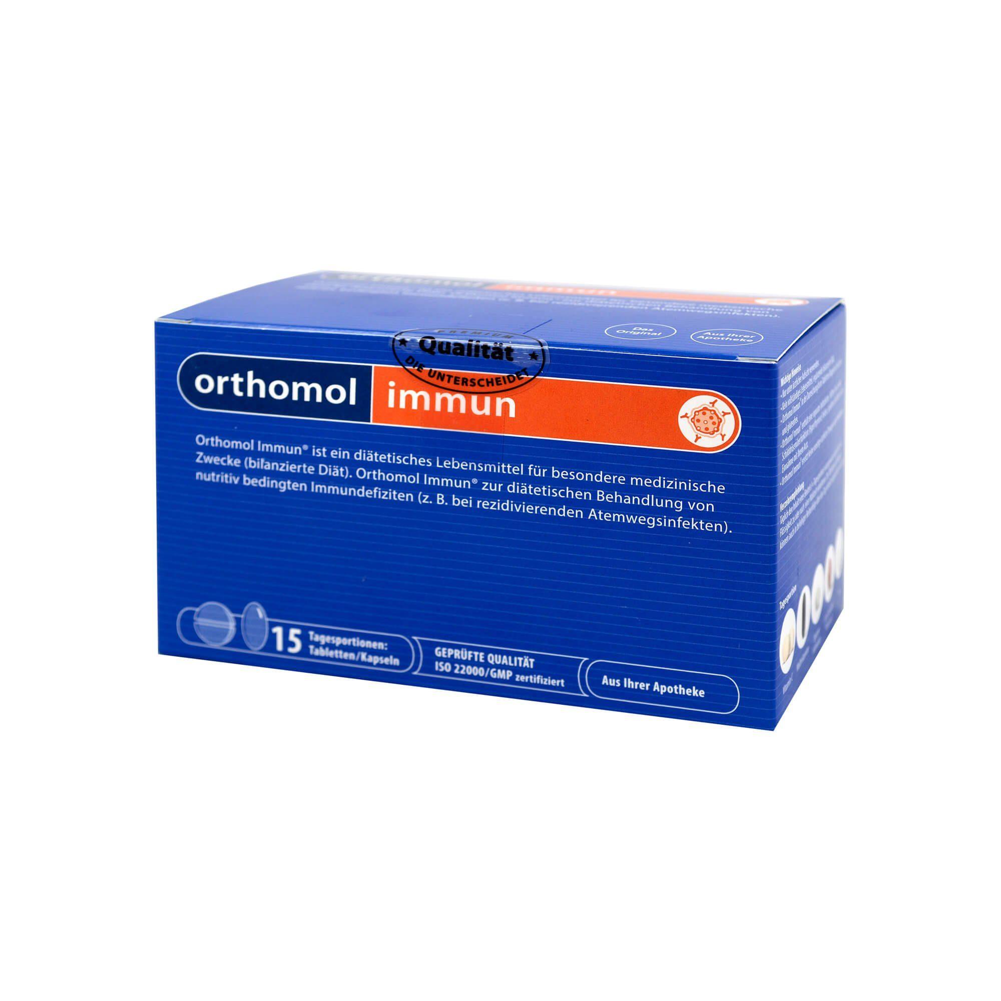 Orthomol Immun 15 Tabletten/Kapseln Kombipackung, 1 St