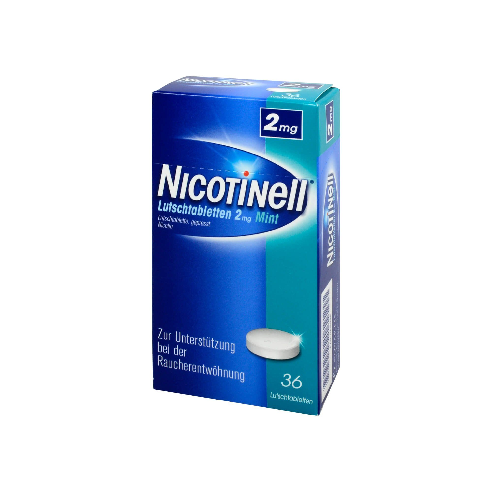 Nicotinell Lutschtabletten 2 mg Mint, 36 St
