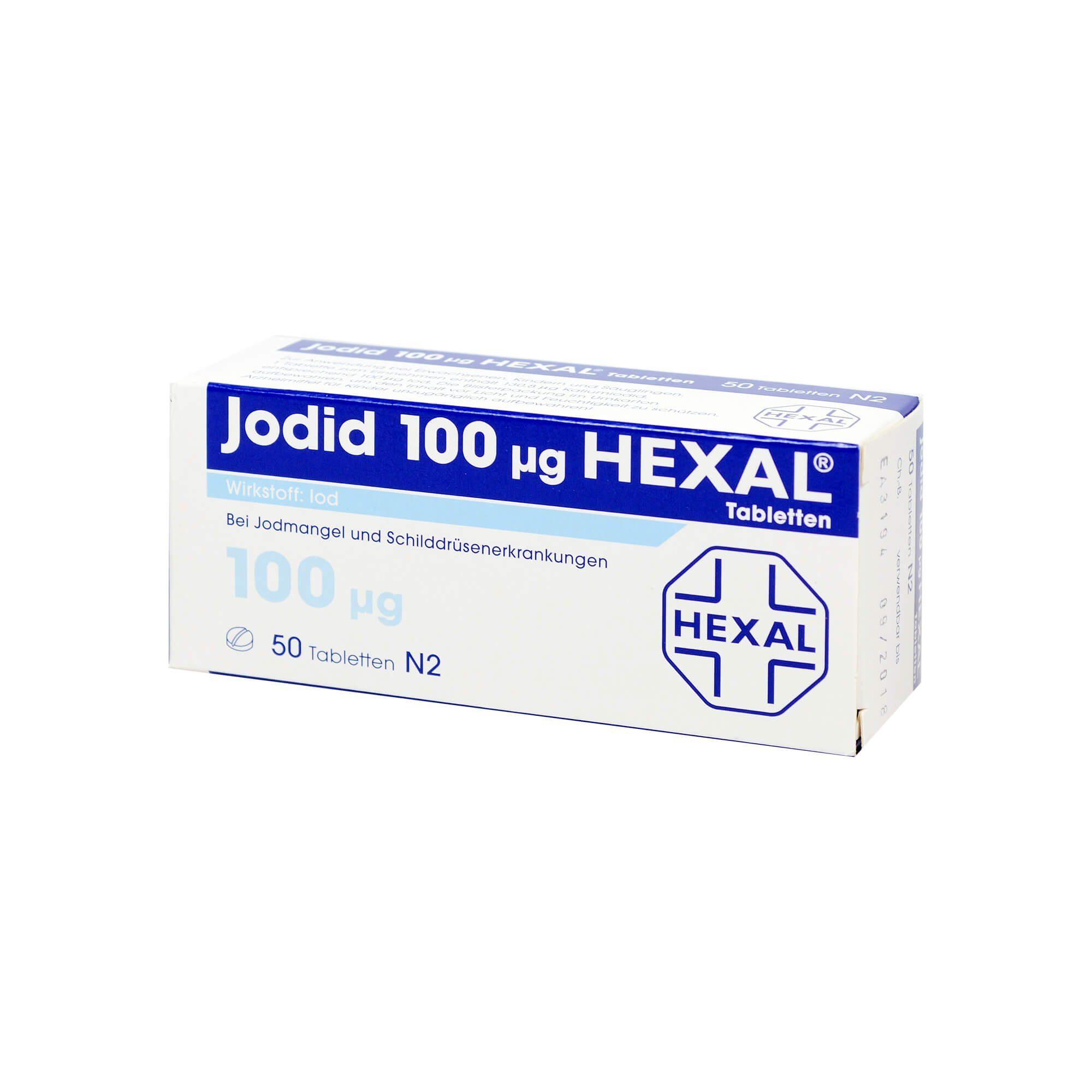 Jodid 100 Hexal, 50 St